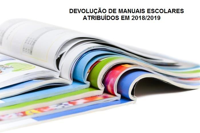 DEVOLUÇÃO DE MANUAIS ATRIBUÍDOS EM 18/19