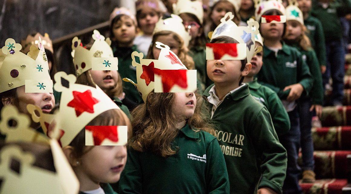 Crianças do Pré-Escolar cantam as janeiras