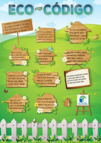Poster Eco-Código Torrinha